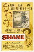 "Movie Posters:Western, Shane (Paramount, 1953). One Sheet (27"" X 41"")...."