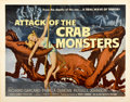 "Movie Posters:Science Fiction, Attack of the Crab Monsters (Allied Artists, 1957). Half Sheet (22""X 28"")...."