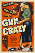 "Movie Posters:Film Noir, Gun Crazy (United Artists, 1949). One Sheet (27"" X 41"")...."
