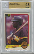 Baseball Cards:Singles (1970-Now), 1983 Donruss Tony Gwynn #598 Beckett 9.5 Gem Mint. One of the mostproficient batsmen in the history of the game Tony Gwynn...