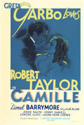 "Movie Posters:Drama, Camille (MGM, 1937). One Sheet (27"" X 41"") Style C...."