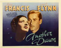 "Another Dawn (Warner Brothers, 1937). Half Sheet (22"" X 28"")"