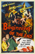 "Movie Posters:Science Fiction, Beginning of the End (Republic, 1957). One Sheet (27"" X 41"")...."