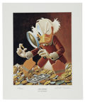 "Original Comic Art:Miscellaneous, Carl Barks - ""The Expert"" Miniature Lithograph Limited Edition Print #572/595 (Another Rainbow, 1997)...."