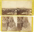 Photography:Stereo Cards, Six Civil War Stereoviews,... (Total: 6 Items)