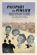"Movie Posters:Comedy, Passport to Pimlico (Ealing, 1949). British One Sheet (27"" X40"")...."