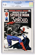 Modern Age (1980-Present):Superhero, Marvel Team-Up #94 Spider-Man and Shroud (Marvel, 1980) CGC NM/MT9.8 White pages....