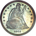 Proof Seated Dollars, 1862 $1 PR66 NGC....