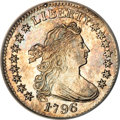Early Dimes, 1796 10C --Improperly Cleaned--NCS. Unc. Details....