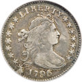 Early Dimes, 1796 10C --Reverse Scratched--NCS. XF Details....