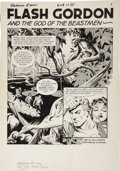 Original Comic Art:Panel Pages, Al Williamson Flash Gordon #5, Title Page 1 Original Art(King, 1967)....