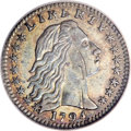 Early Half Dimes, 1794 H10C --Scratched, Improperly Cleaned--NCS. AU Details....