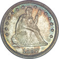 Seated Quarters, 1887 25C MS67 PCGS....