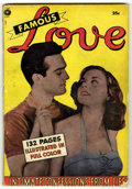 Golden Age (1938-1955):Romance, Fox Giants - Famous Love (Fox Features Syndicate, 1950) Condition:VG....