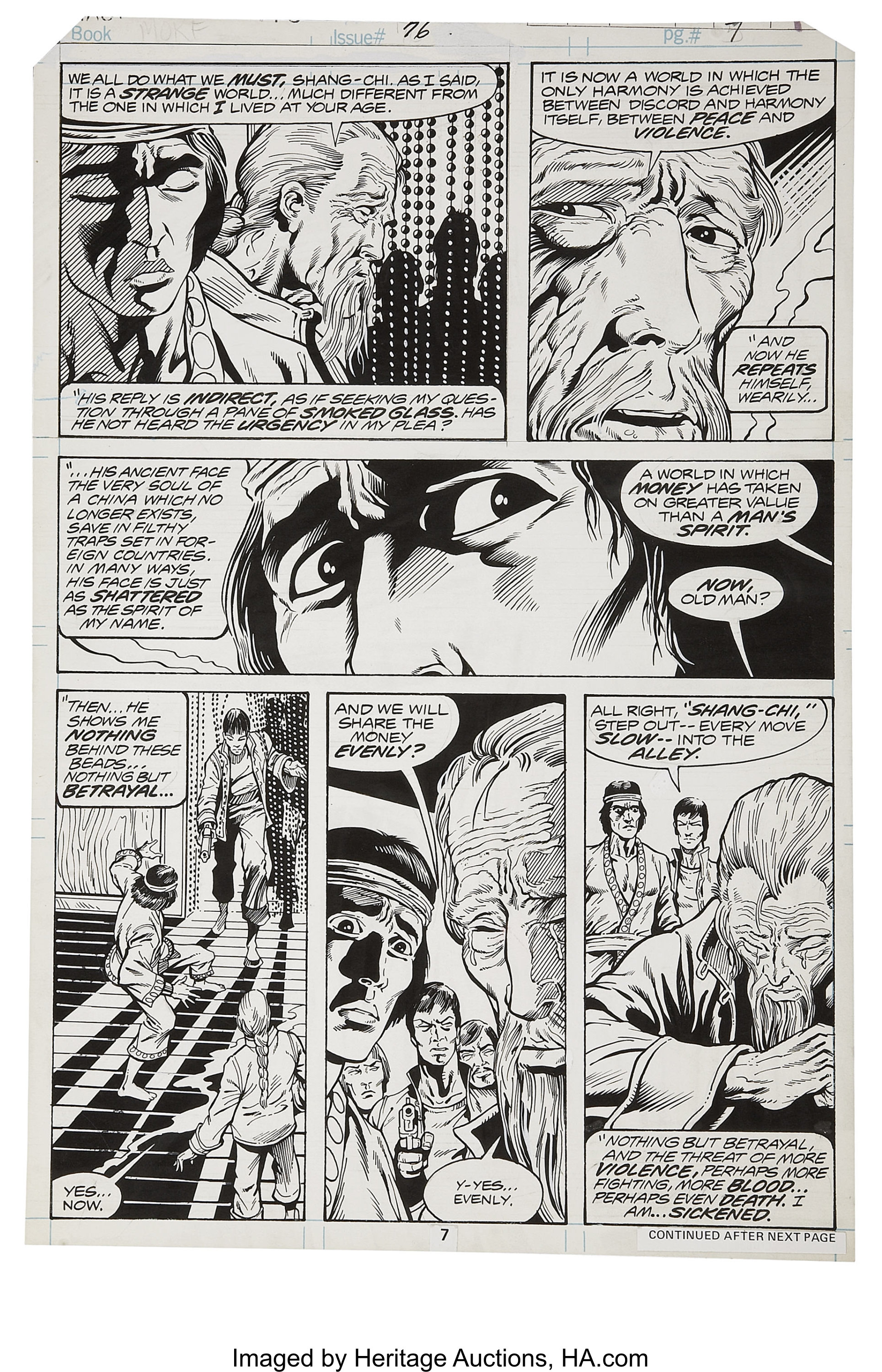 Mike Zeck and Gene Day - Master of Kung Fu #76, page 7
