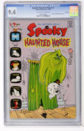 Bronze Age (1970-1979):Cartoon Character, Spooky Haunted House #1 File Copy (Harvey, 1972) CGC NM 9.4Off-white to white pages....