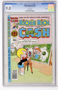 Modern Age (1980-Present):Humor, Richie Rich Cash #33 File Copy (Harvey, 1980) CGC NM/MT 9.8 Whitepages....