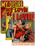 Golden Age (1938-1955):Romance, Fox Romance Group (Fox Features Syndicate, 1949-50) Condition:Average GD/VG.... (Total: 5 Comic Books)