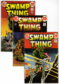 Bronze Age (1970-1979):Horror, Swamp Thing #3-10 Group (DC, 1972-74) Condition: Average FN....(Total: 8 Comic Books)