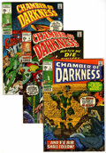 Bronze Age (1970-1979):Horror, Chamber of Darkness #5-8 Group (Marvel, 1970) Condition: AverageVF-.... (Total: 4 Comic Books)
