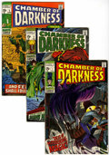 Silver Age (1956-1969):Horror, Chamber of Darkness Group (Marvel, 1969-70) Condition: AverageFN/VF.... (Total: 5 Comic Books)