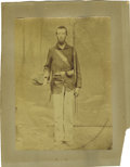Photography:Official Photos, Unusual Large-Format Image of a Union Soldier....