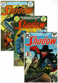Bronze Age (1970-1979):Miscellaneous, The Shadow #1-4 Group (DC, 1973-74) Condition: Average VF-....(Total: 4 Comic Books)