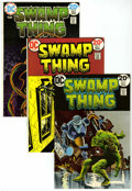 Bronze Age (1970-1979):Horror, Swamp Thing Group (DC, 1973-74) Condition: Average VF.... (Total: 5Comic Books)