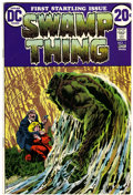 Bronze Age (1970-1979):Horror, Swamp Thing #1 (DC, 1972) Condition: FN/VF....