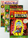 Bronze Age (1970-1979):Cartoon Character, Richie Rich Billions File Copies Group (Harvey, 1974-82) Condition:Average NM-.... (Total: 45 Comic Books)