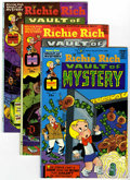 Bronze Age (1970-1979):Cartoon Character, Richie Rich Vault of Mystery File Copies Group (Harvey, 1974-82)Condition: Average NM-.... (Total: 46 Comic Books)