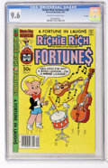 Modern Age (1980-Present):Humor, Richie Rich Fortunes #58 File Copy (Harvey, 1981) CGC NM+ 9.6Off-white to white pages....