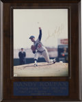 Autographs:Photos, Sandy Koufax Signed Photograph. Jump at the chance to get yourhands on a desirable signed photo from one of the most domin...