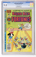 Modern Age (1980-Present):Humor, Richie Rich Fortunes #59 File Copy (Harvey, 1981) CGC NM/MT 9.8Off-white to white pages....