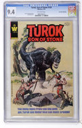 Modern Age (1980-Present):Alternative/Underground, Turok, Son of Stone #126 Don Rosa Collection pedigree (Whitman, 1981) CGC NM 9.4 White pages....