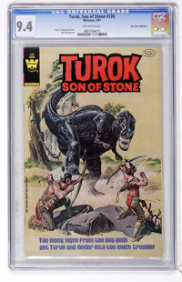 Turok, Son of Stone #126 Don Rosa Collection pedigree (Whitman, 1981) CGC NM 9.4 White pages