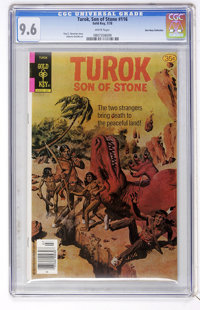 Turok, Son of Stone #116 Don Rosa Collection pedigree (Gold Key, 1978) CGC NM+ 9.6 White pages