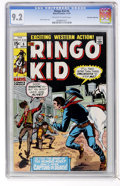 Bronze Age (1970-1979):Western, The Ringo Kid #6 Don Rosa Collection pedigree (Marvel, 1970) CGC NM- 9.2 Off-white to white pages....