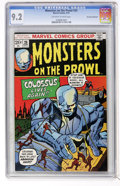Bronze Age (1970-1979):Horror, Monsters on the Prowl #25 Don Rosa Collection pedigree (Marvel,1973) CGC NM- 9.2 Off-white to white pages....