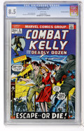 Bronze Age (1970-1979):War, Combat Kelly #5 Don Rosa Collection pedigree (Marvel, 1973) CGC VF+8.5 White pages....