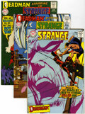 Silver Age (1956-1969):Science Fiction, Strange Adventures Group (DC, 1968-71) Condition: Average VF....(Total: 10 Comic Books)