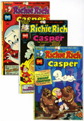 Bronze Age (1970-1979):Cartoon Character, Richie Rich and Casper #1-45 File Copies Group (Harvey, 1974-82)Condition: Average NM-.... (Total: 45 Comic Books)