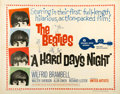 "Movie Posters:Rock and Roll, A Hard Day's Night (United Artists, 1964). Half Sheet (22"" X28"")...."