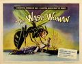 "Movie Posters:Science Fiction, The Wasp Woman (Film Group, 1959). Half Sheet (22"" X 28"")...."