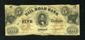 Obsoletes By State:Michigan, Adrian, MI- Erie and Kalamazoo Rail Road Bank $5 Aug. 1, 1853. ...