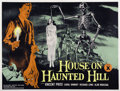 """Movie Posters:Horror, House on Haunted Hill (Allied Artists, 1959). British Quad (30"""" X40"""")...."""