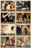 """Movie Posters:James Bond, Goldfinger (United Artists, 1964). Lobby Card Set of 8 (11"""" X 14"""").... (Total: 8 Items)"""