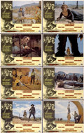 """Movie Posters:Western, Once Upon A Time in the West (Paramount, 1969). Lobby Card Set of 8 (11"""" X 14"""").... (Total: 8 Items)"""