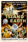 "Movie Posters:Science Fiction, This Island Earth (Universal International, 1955). One Sheet (27"" X41"")...."