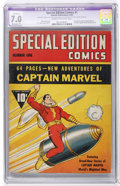 Golden Age (1938-1955):Superhero, Special Edition Comics #1 (Fawcett, 1940) CGC Apparent FN/VF 7.0 Moderate (P) Cream to off-white pages....